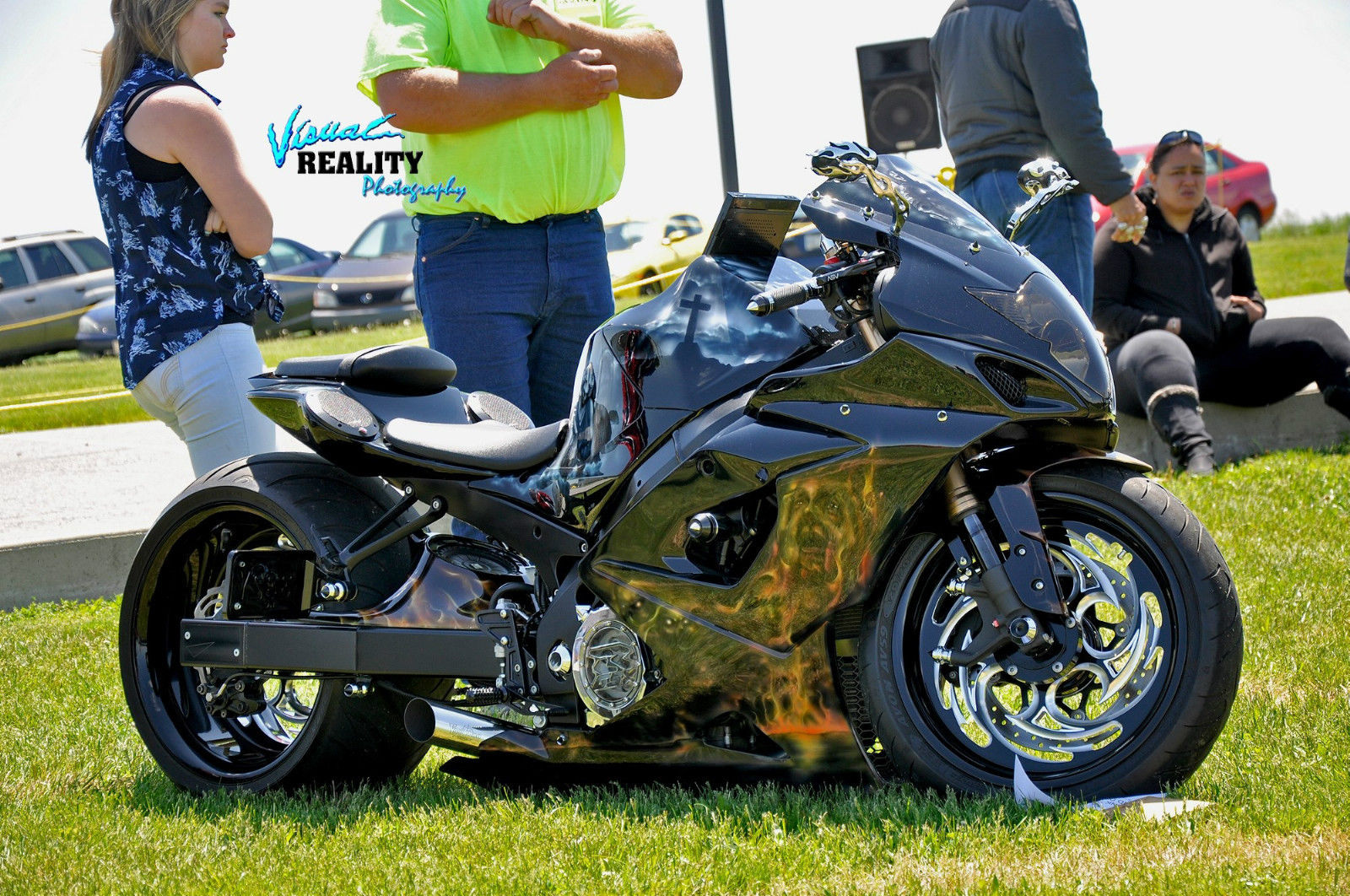 2006 custom gsxr 1000 300 fat tire stereo system custom paint many extras. Black Bedroom Furniture Sets. Home Design Ideas