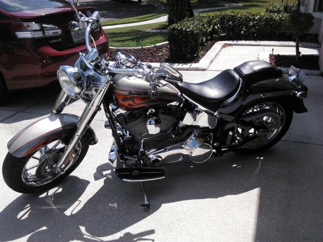 Harley Davidson Flstfse2 Screamin Eagle Fatboy Cvo 2006 Se2 Jpg