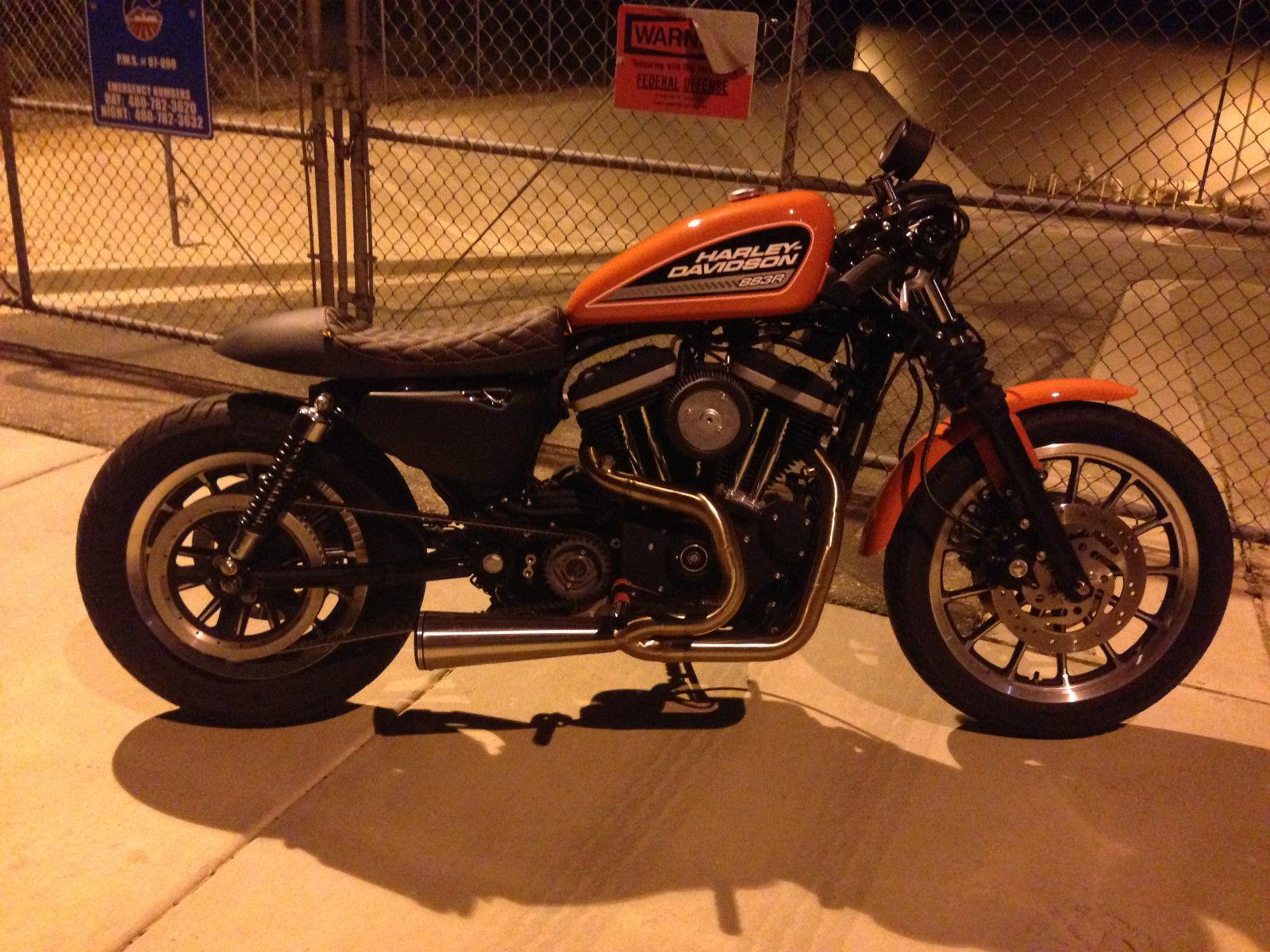 2006 Harley Davidson Sportster 883R Cafe Racer