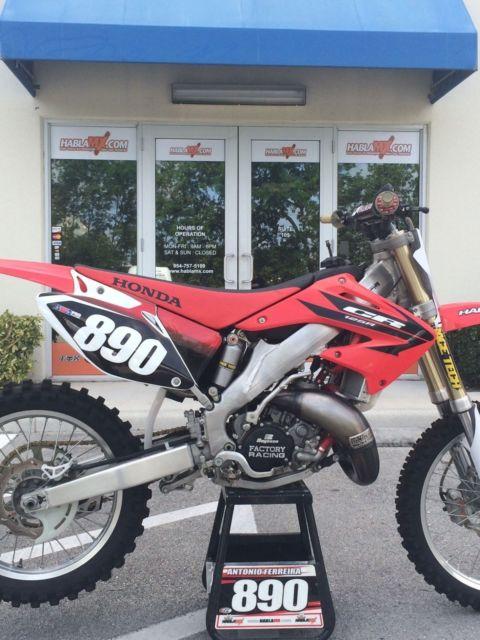 2006 Honda Cr 125 Cr125 Cr125r Cr 125r Motocross Enduro Cross Country