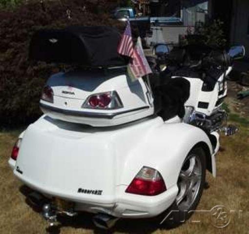 2006 Honda Gold Wing U00ae Lehman Monarch Ii Trike Kit 1800cc