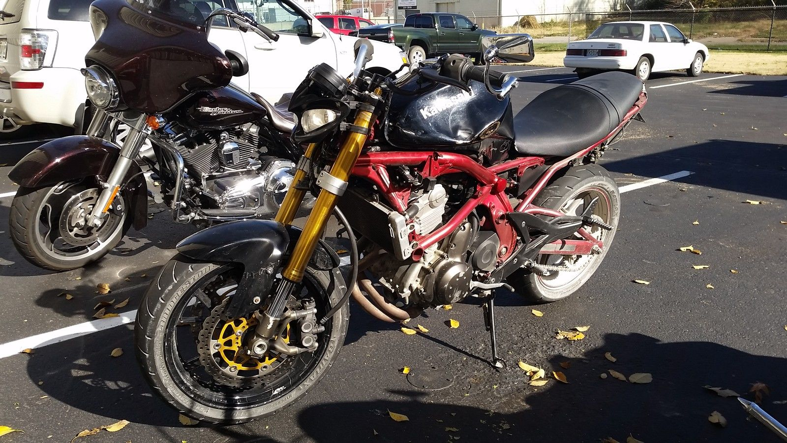2006 Kawasaki Ninja 650r Street Fighter With Inverted Forks Wiring Harness