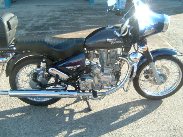 2006 Royal Enfield Bullet 500 Blue 10344 Miles