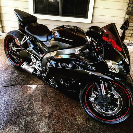 2006 Yamaha R6 Raven Edition Black And Red CLEAN With Mods Extras