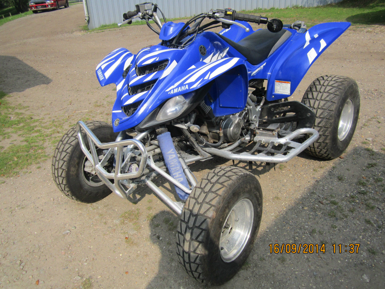 2006 yamaha yfm 660 blue for 2006 yamaha raptor 660