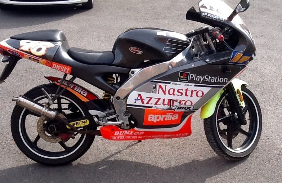 2007 aprilia rs50 valentino rossi race replica limited edition. Black Bedroom Furniture Sets. Home Design Ideas