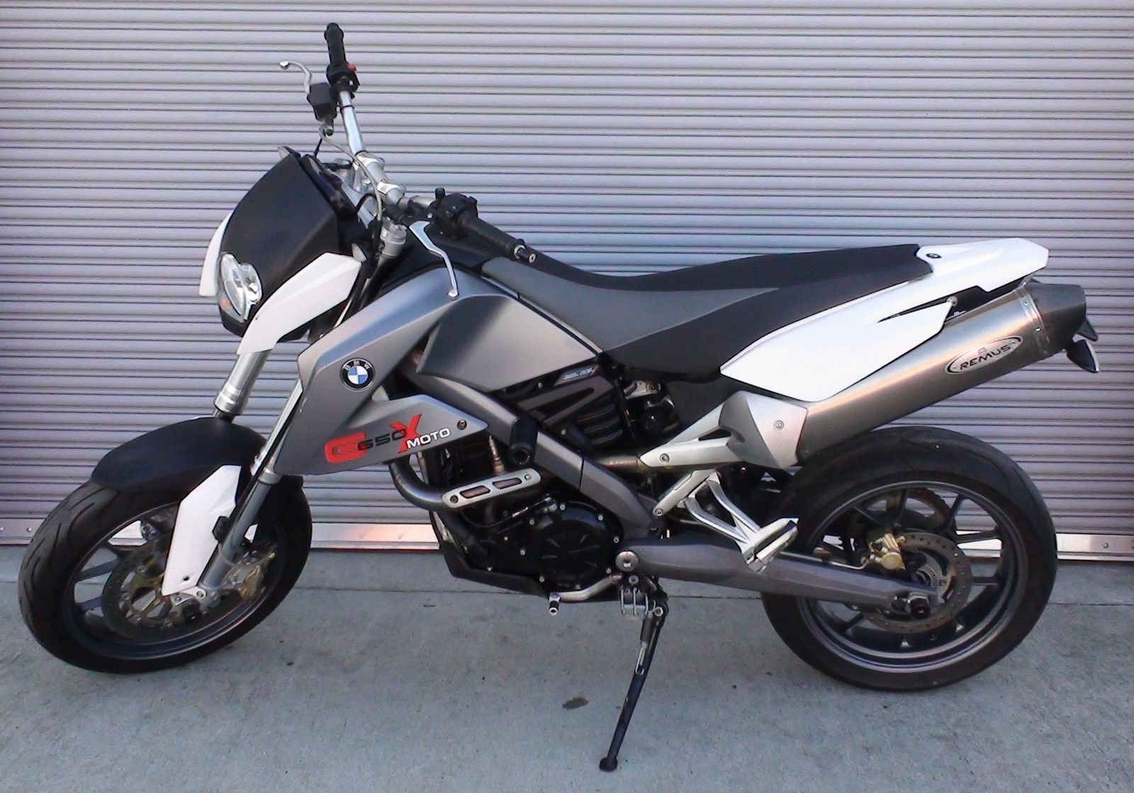 2007 bmw g650 x moto w remus ti slip on exhaust. Black Bedroom Furniture Sets. Home Design Ideas
