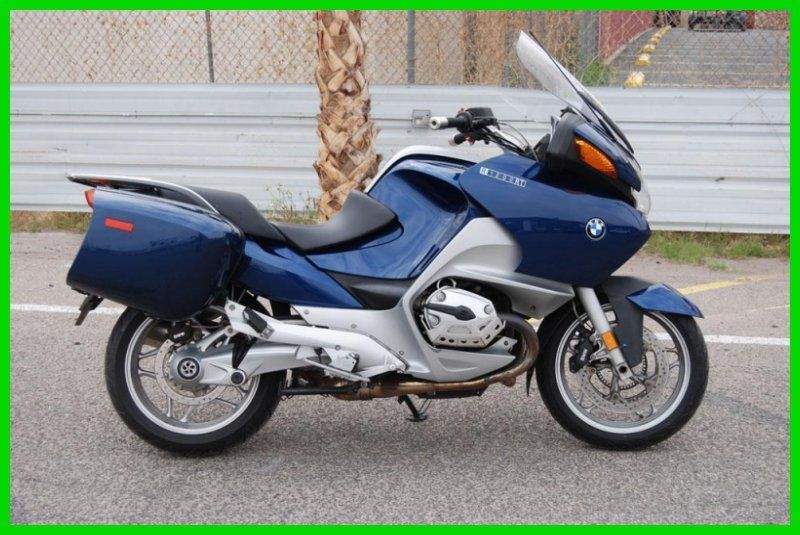 2007 Bmw R1200rt 14677a Blue