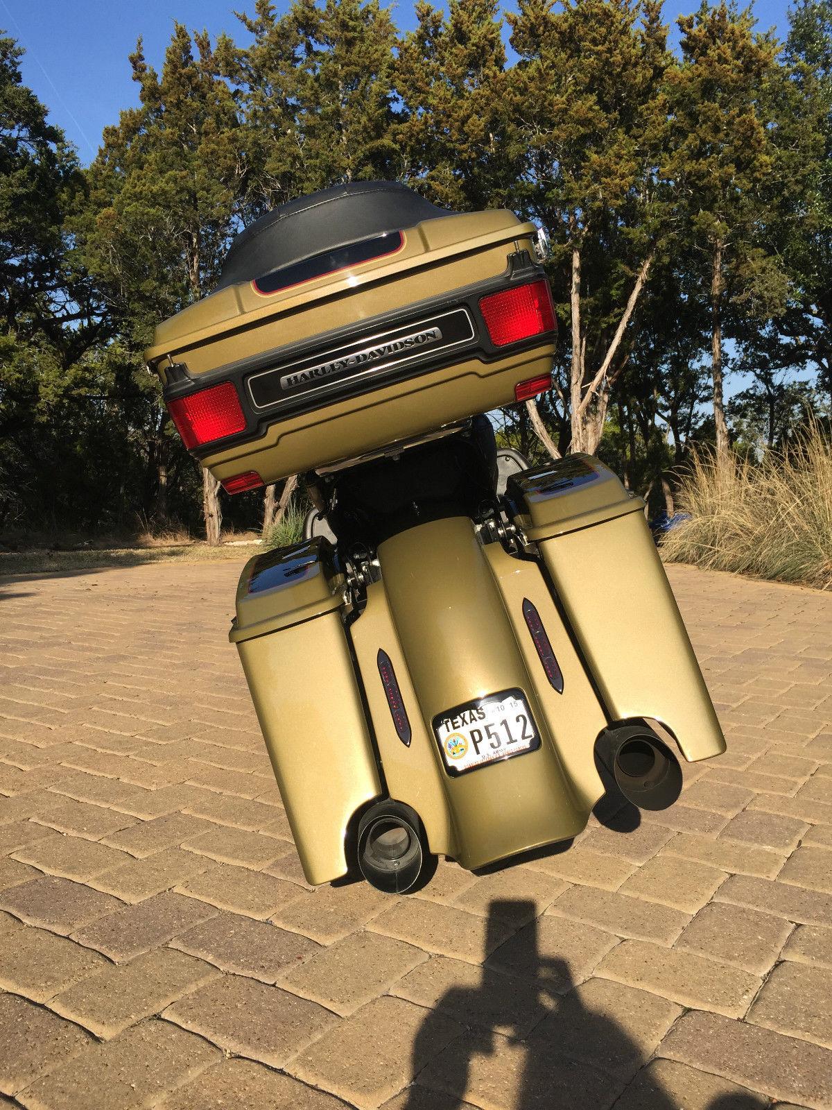 Eclipse Las Vegas >> 2007 Custom Harley Davidson Electra Glide Ultra Classic Patriotic Paint Scheme