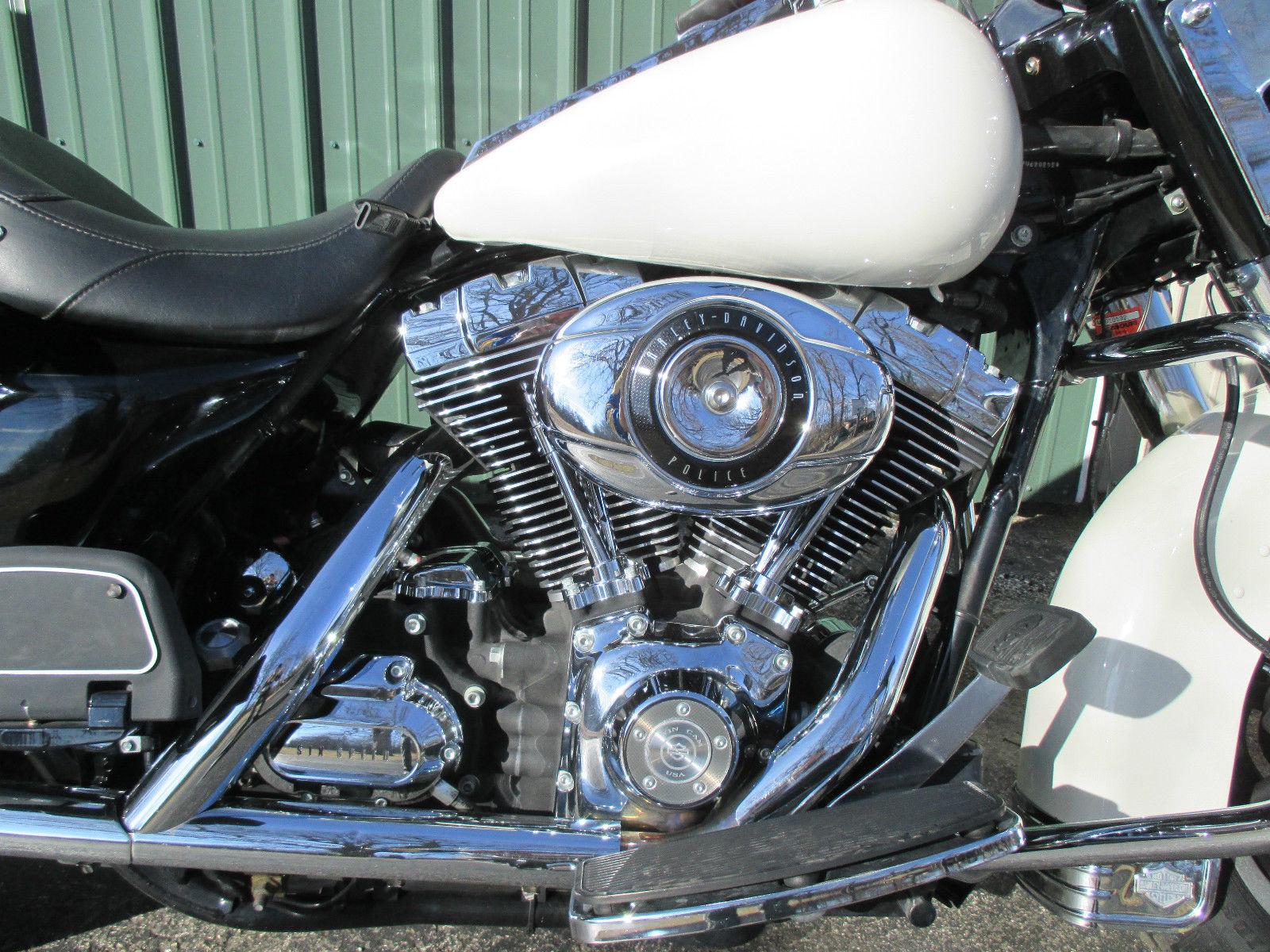 2007 Harley-Davidson FLHP Road King 103 cid Motor