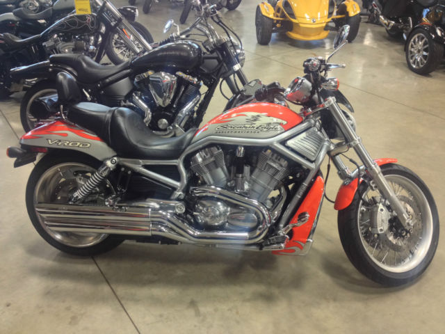 Harley Davidson Softail For Sale Minnesota >> 2007 Harley Davidson Screaming Eagle V-Rod motorcycle softtail cruiser bike vrod