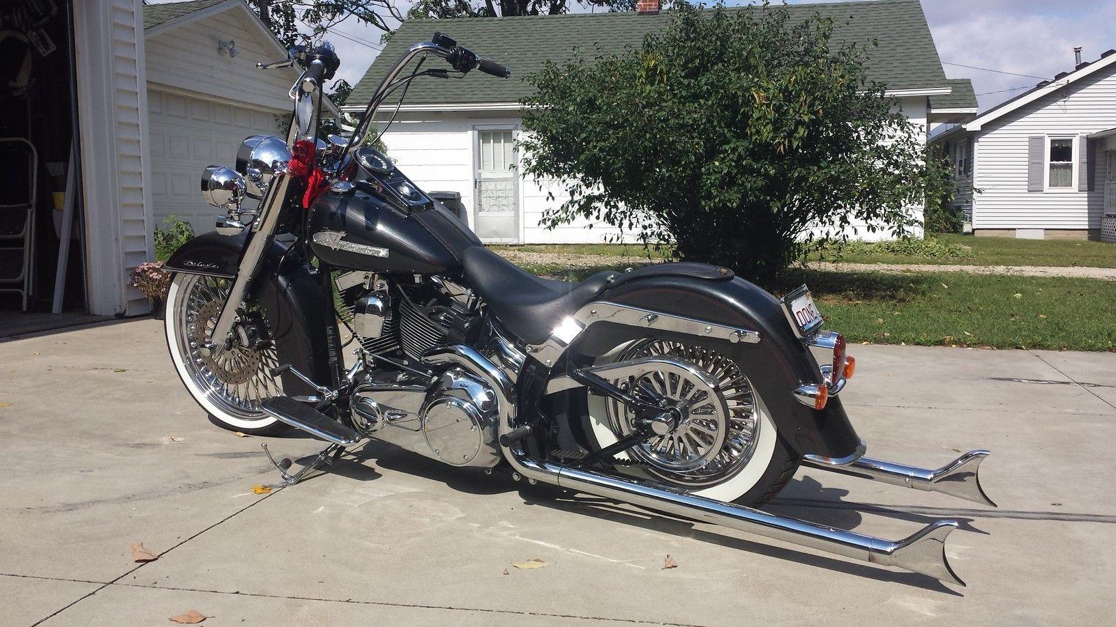 2007 Harley Davidson Softail Deluxe Air Ride Samson
