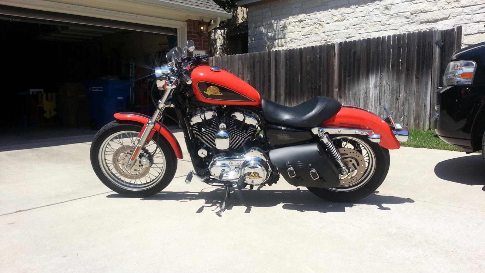 2007 Harley Davidson Sportster Xl50 Limited Edition 50th