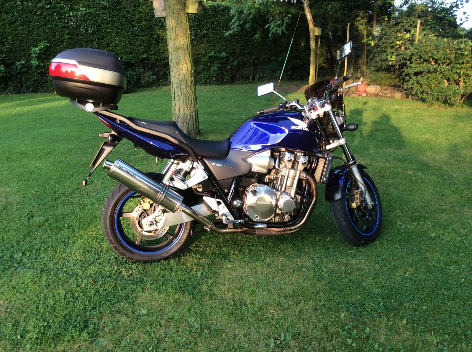 Used Hondas For Sale Near Me >> 2007 HONDA CB 1300 A-5 BLUE IN BEAUTIFUL CONDITION