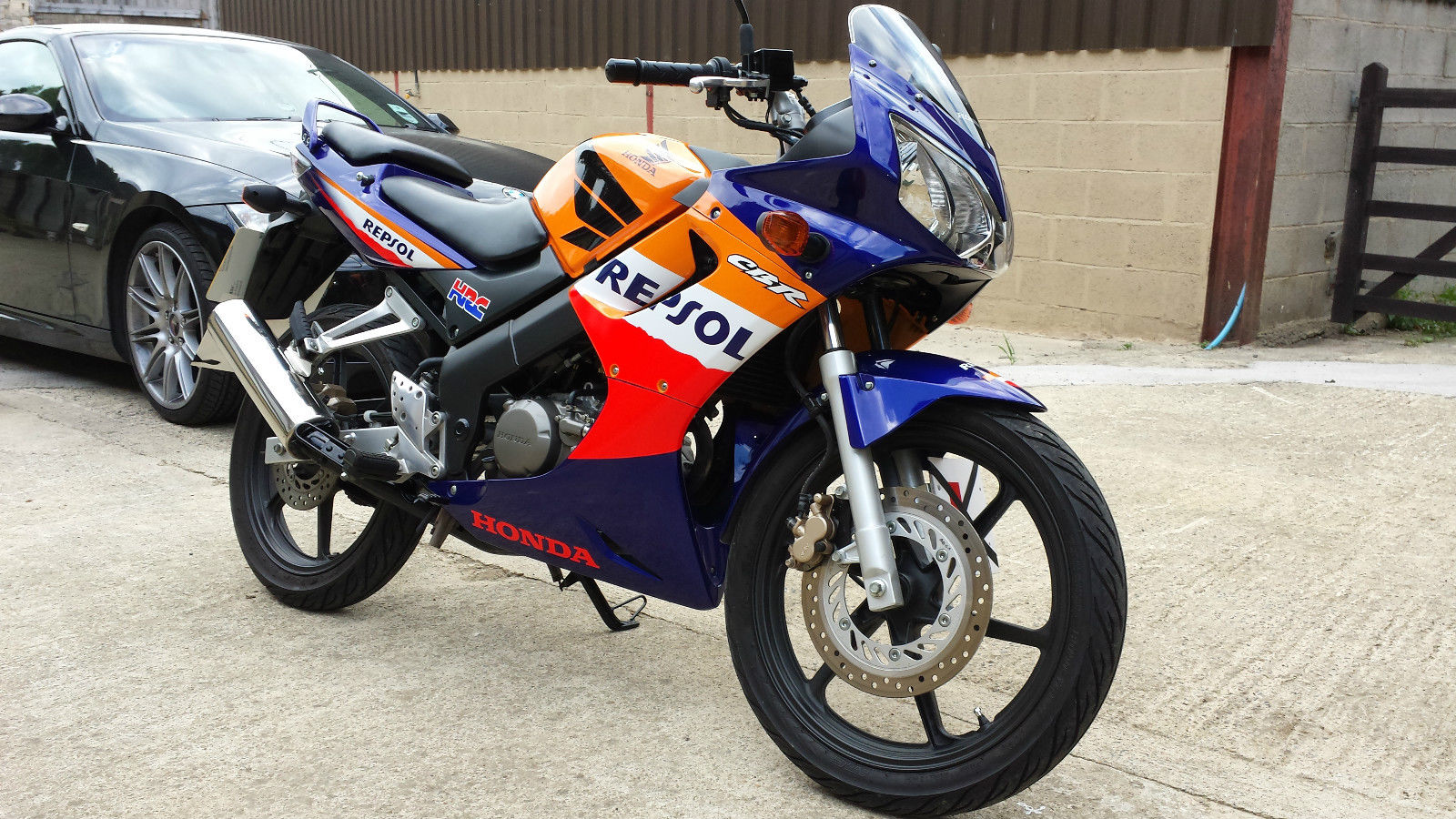 2007 honda cbr repsol 125 rs 6 12 months mot mint 3 140. Black Bedroom Furniture Sets. Home Design Ideas