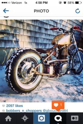 2007 Ls650 Hardtail bobber