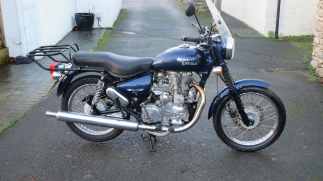 2007 Royal Enfield Bullet 500 Electra Blue