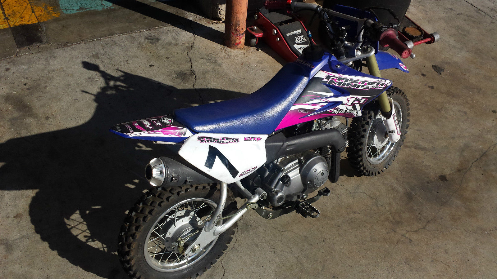 2007 yamaha ttr 50 dirt bike