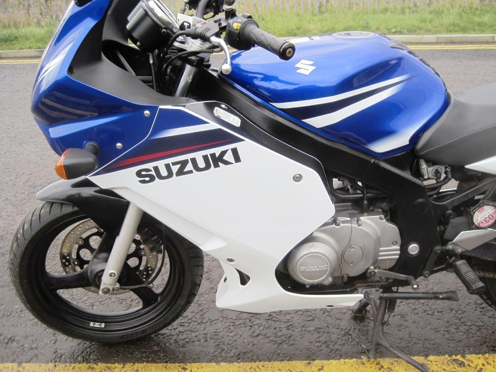 2008 (08) Suzuki GS500 GS500F 500cc Roadster Blue