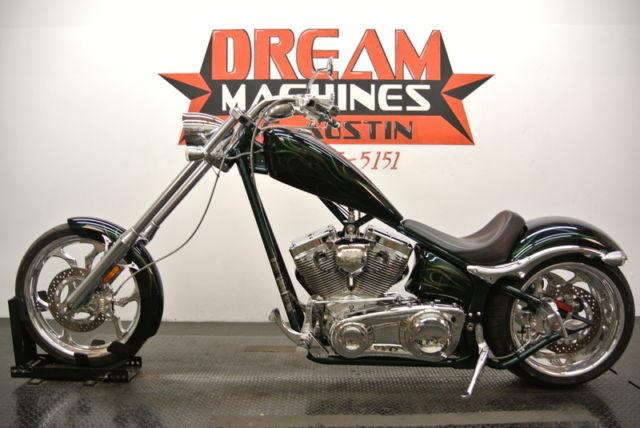 2008 Big Dog Motorcycle K 9 Chopper 117300mm Nice Bikes We Ship