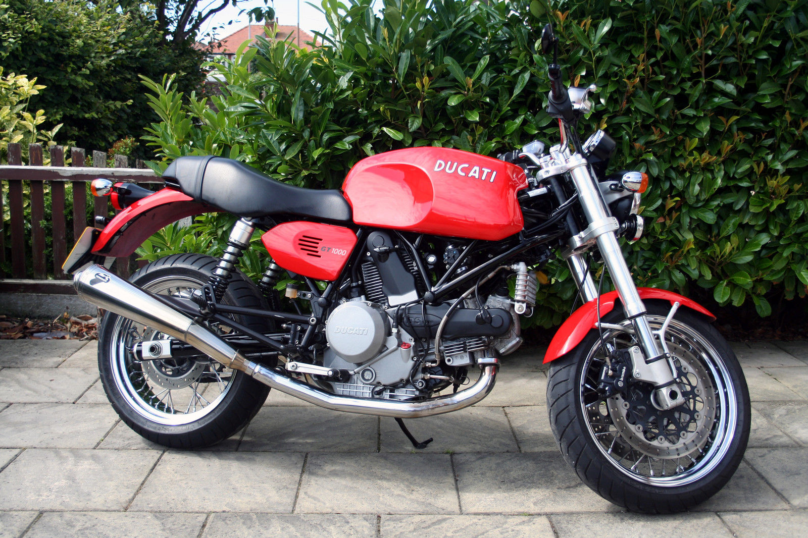 2008 Ducati Gt 1000 Red With Termignoni Exhausts 12m Mot