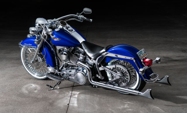 Harley Davidson Bike Covers >> 2008 Harley Davidson Full Cholo Build Heritage Softail