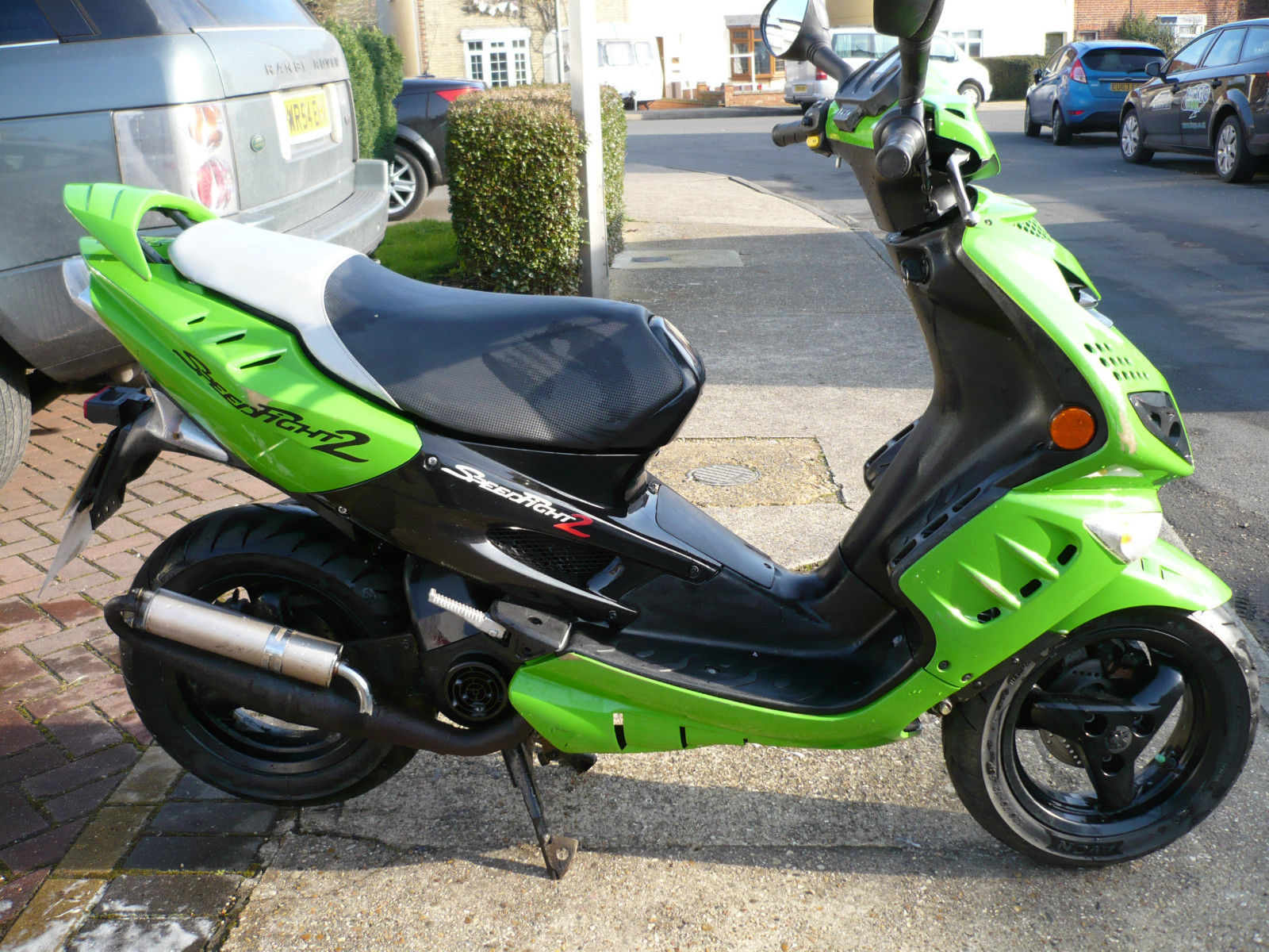 2008 peugeot speedfight 2 100cc green twist go scooter. Black Bedroom Furniture Sets. Home Design Ideas