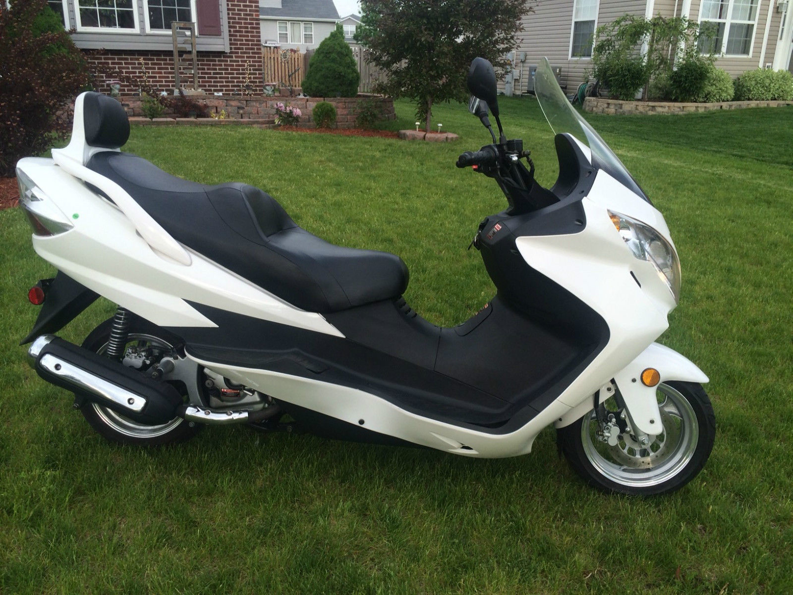 2008 Xingyue Xy260t 4 Scooter Suzuki Burgman Chinese Clone 400 Problems Other Makes
