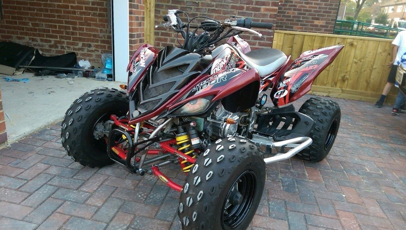 2008 YAMAHA RAPTOR 700R SPECIAL EDITION WITH EXTRAS