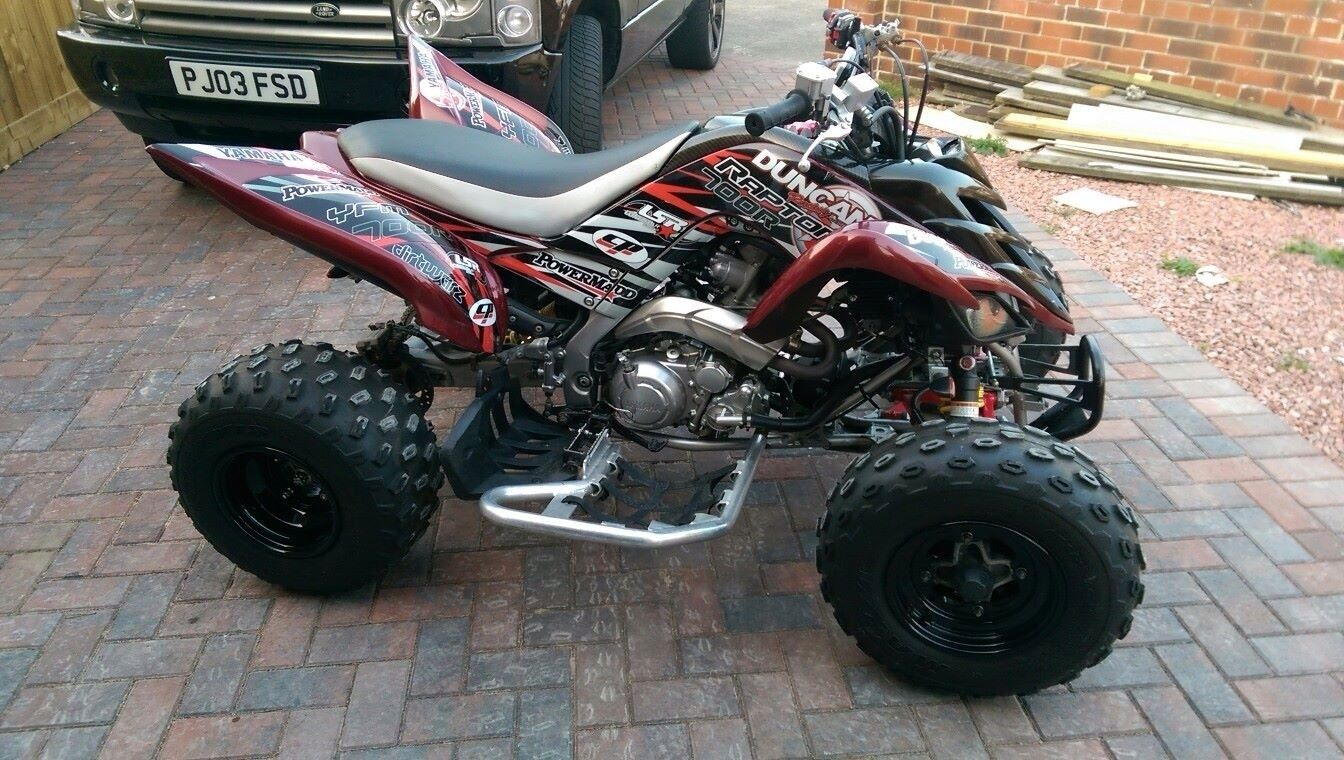 2008 yamaha raptor 700r special edition with extras. Black Bedroom Furniture Sets. Home Design Ideas