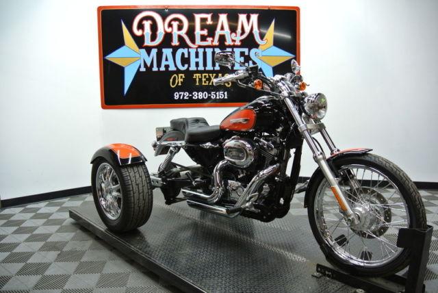 2009 Harley-Davidson XL1200C - Sportster 1200 Custom