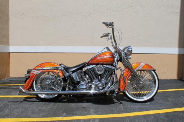 Gangster Harley Davidson Bike