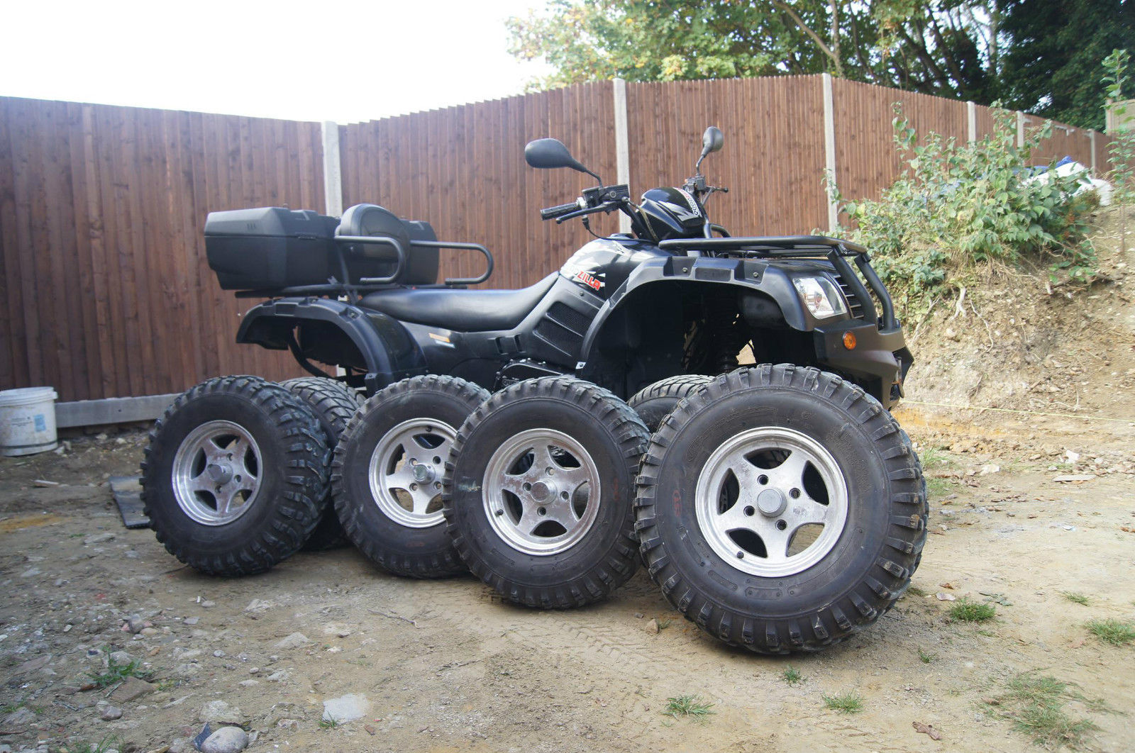 2009 quadzilla cf moto 500 2a quad bike atv or swap. Black Bedroom Furniture Sets. Home Design Ideas