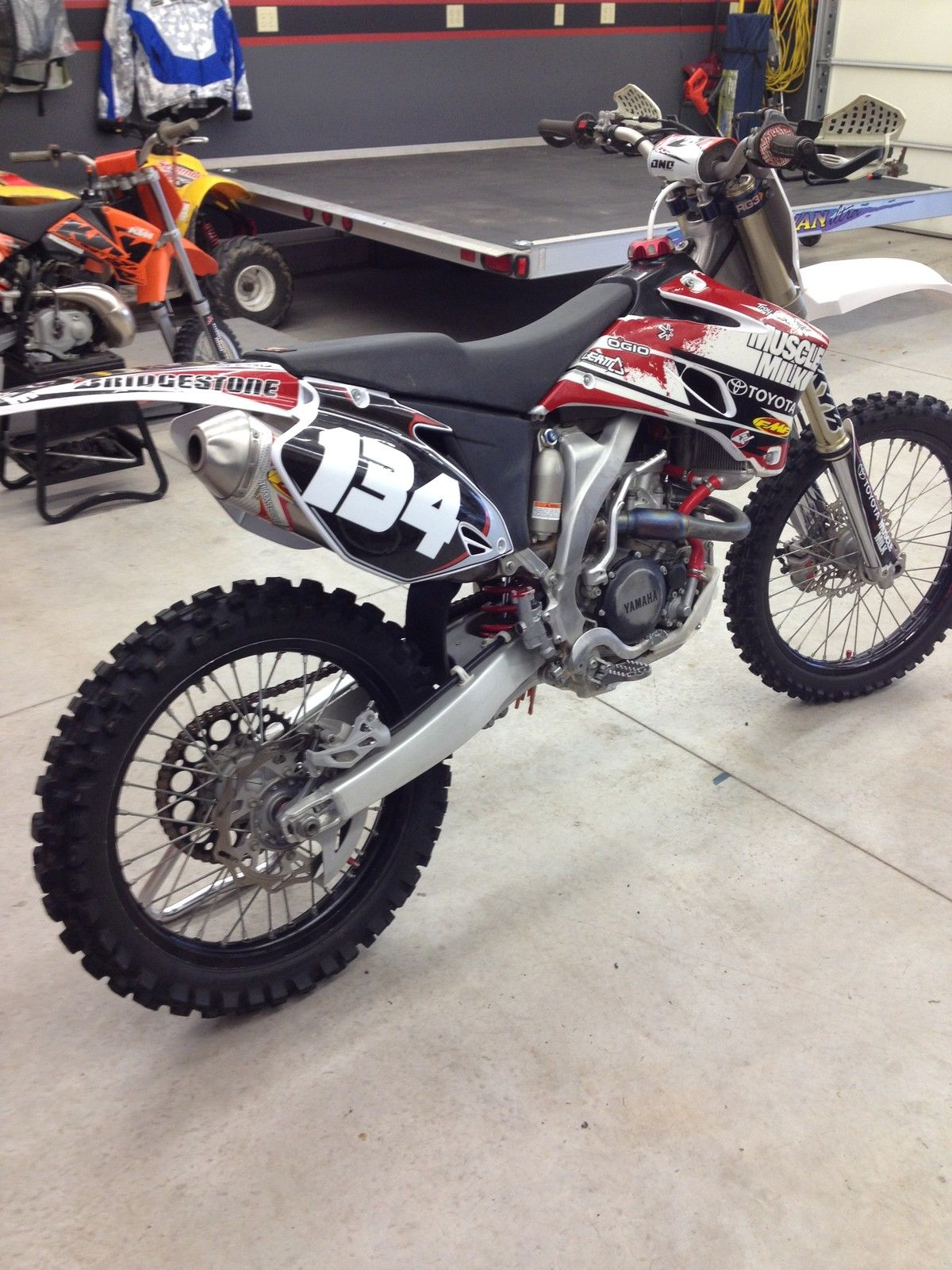 2009 yz250f with rekluse yzf250 450 yz f crf kxf rmz cr kx yz rm 125 250 450. Black Bedroom Furniture Sets. Home Design Ideas