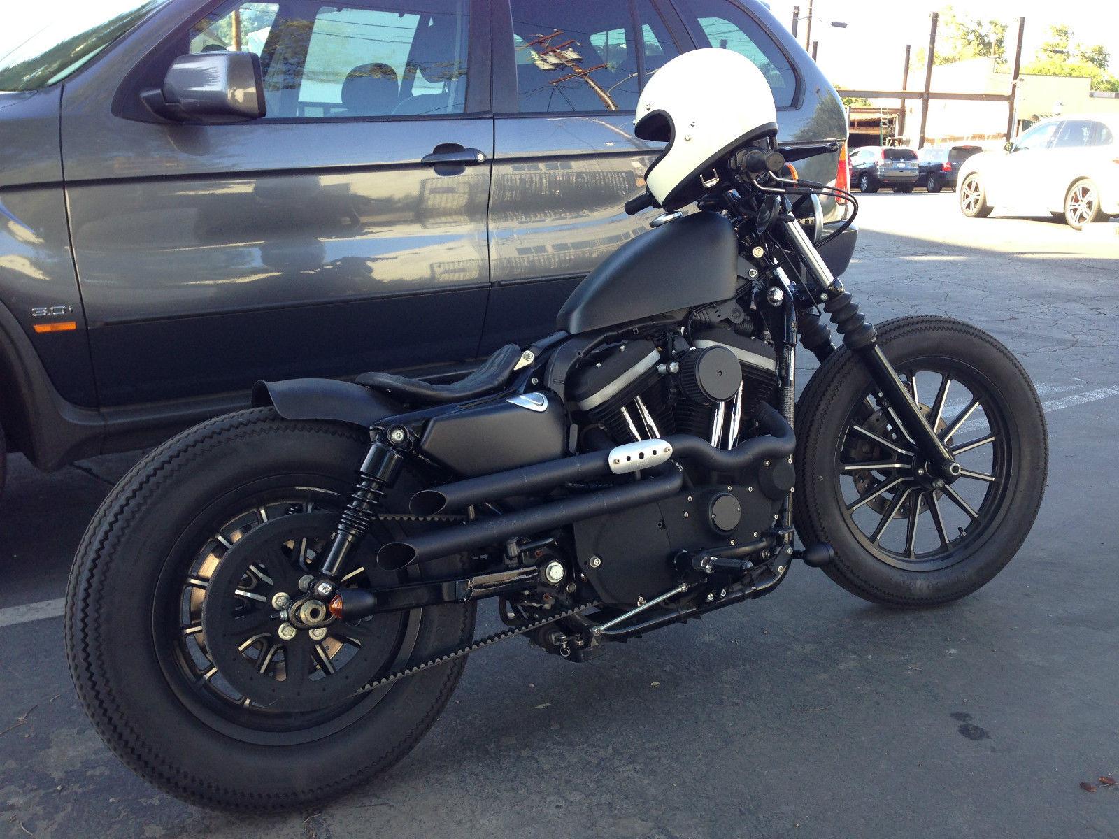 2010 Brat Style Harley Davidson Sportster Iron 883