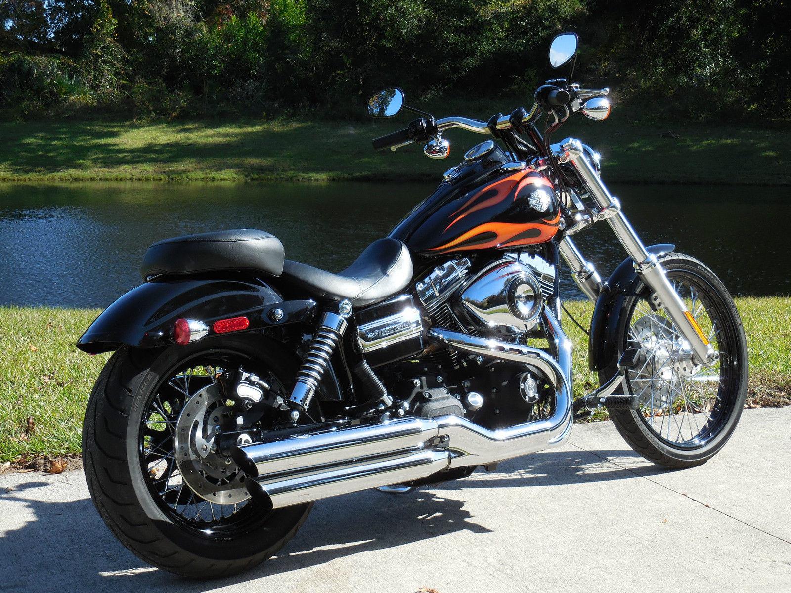 2010 Harley Davidson Dyna Wide Glide Only 4k miles best color