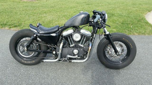 2010 Harley Davidson Sportster 48 Bobber Cafe Brat