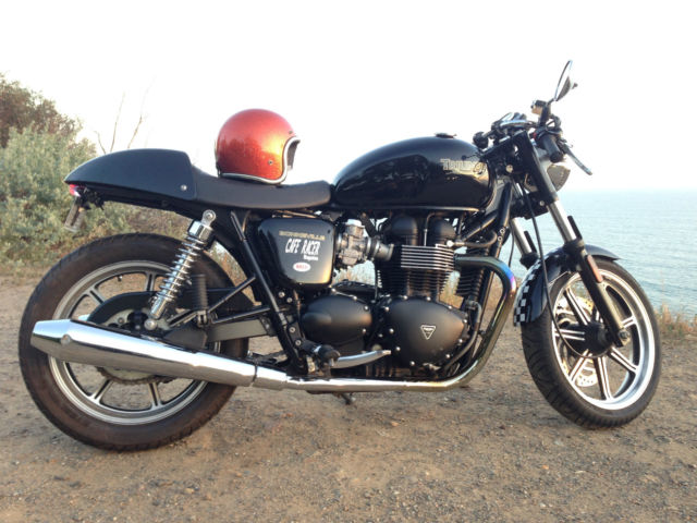 2010 Triumph Bonneville Cafe Racer Thruxton T100 Custom Honda Only