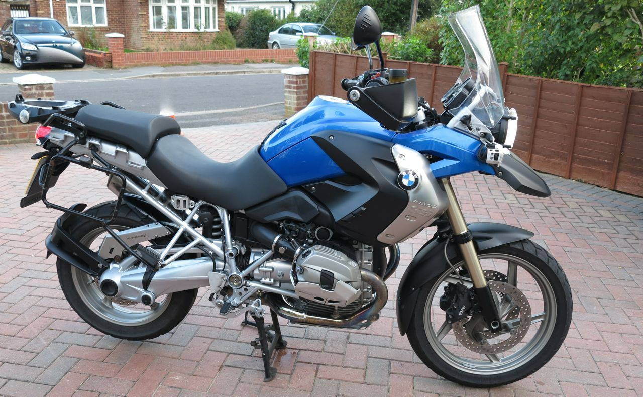 2011 Bmw R 1200 Gs Tu Blue Factory Lowered Many Extras