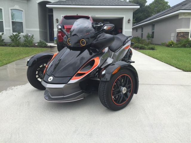 2011 Can Am Spyder Rs S Custom