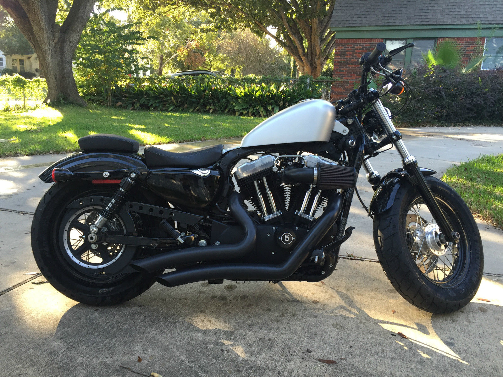 2011 harley davidson forty eight sportster 1200 xl 2063 miles only. Black Bedroom Furniture Sets. Home Design Ideas