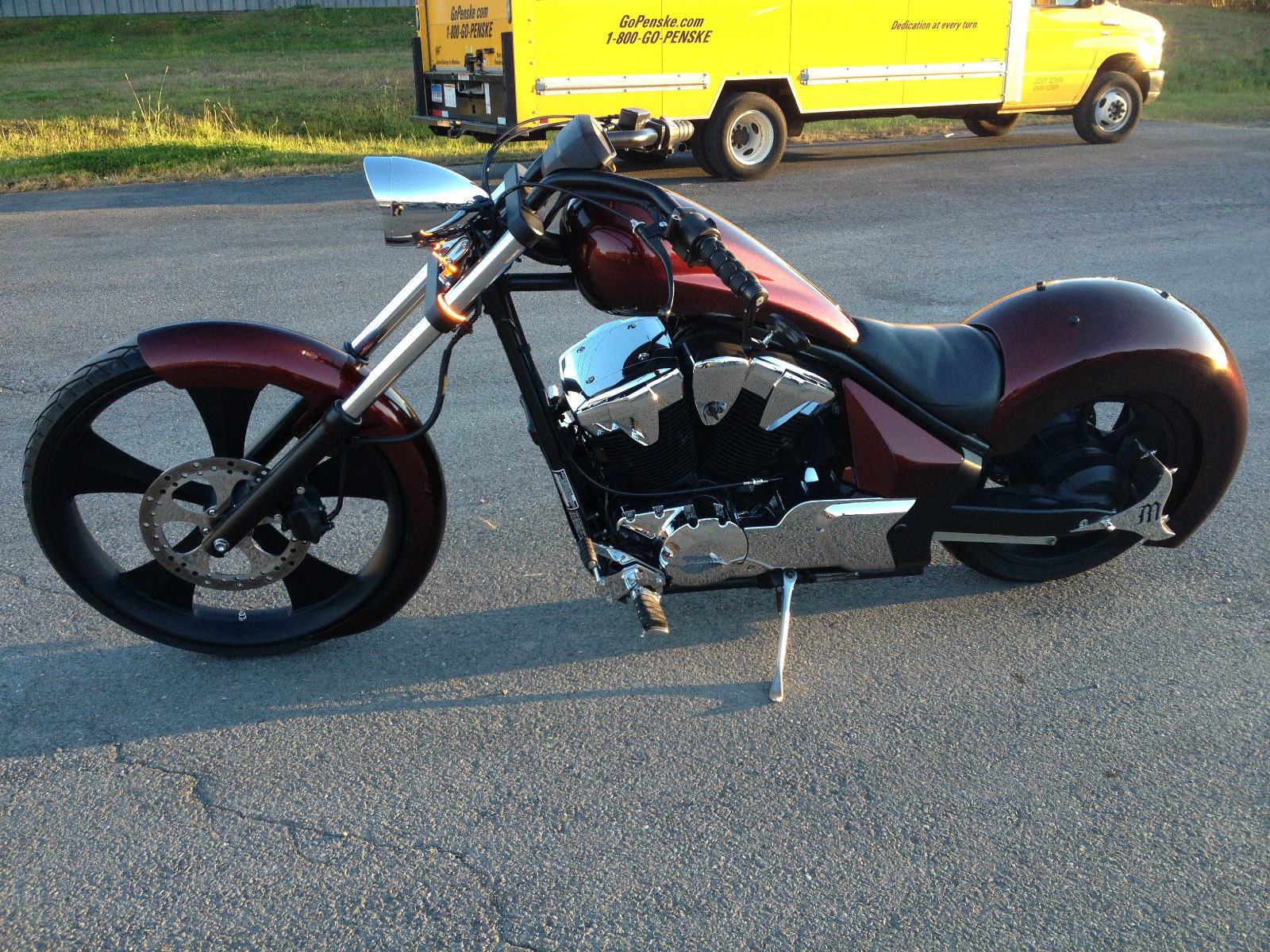 2011 honda fury  2011 custom built motorcycles