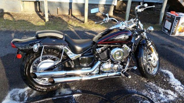 2011 Yamaha V Star 650 Custom, excellent condition, V&H exhaust, 4849 mi