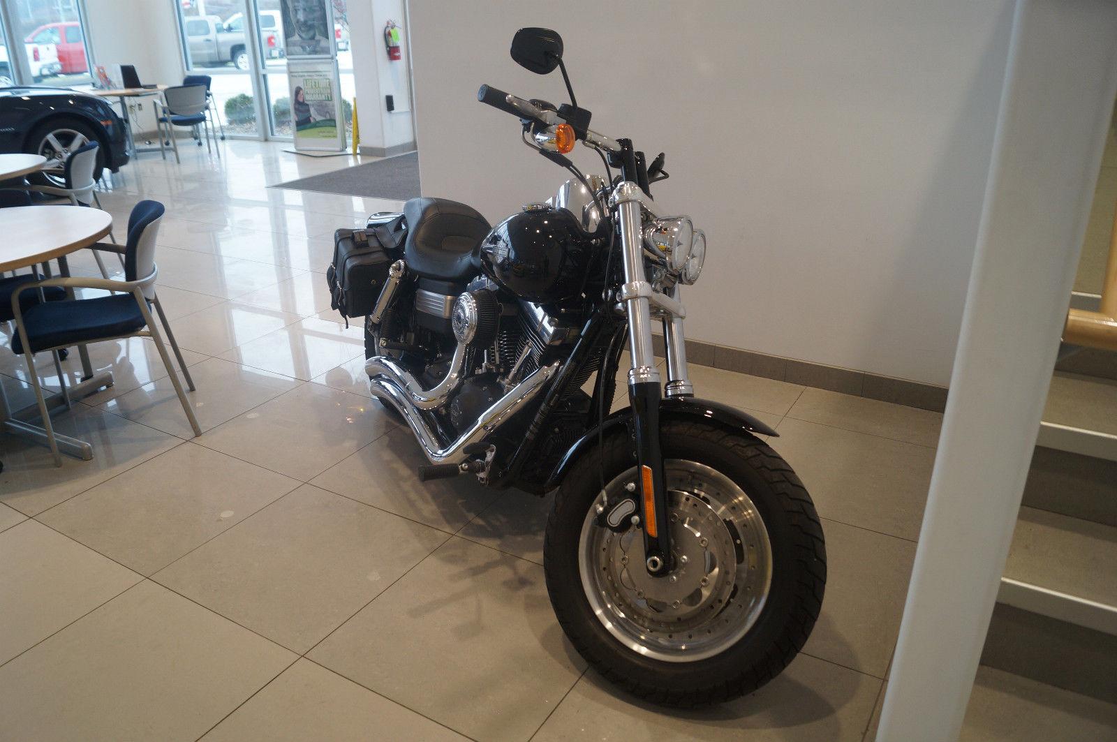 2012 12 Harley Davidson Fatbob Fat Bob Dyna Motorcycle