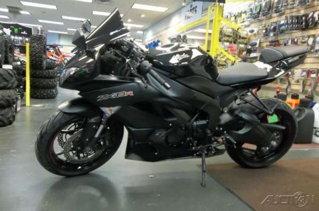 2012 12 Kawasaki Ninja Zx6r Used 600 M4 Exhaust Warranty Through