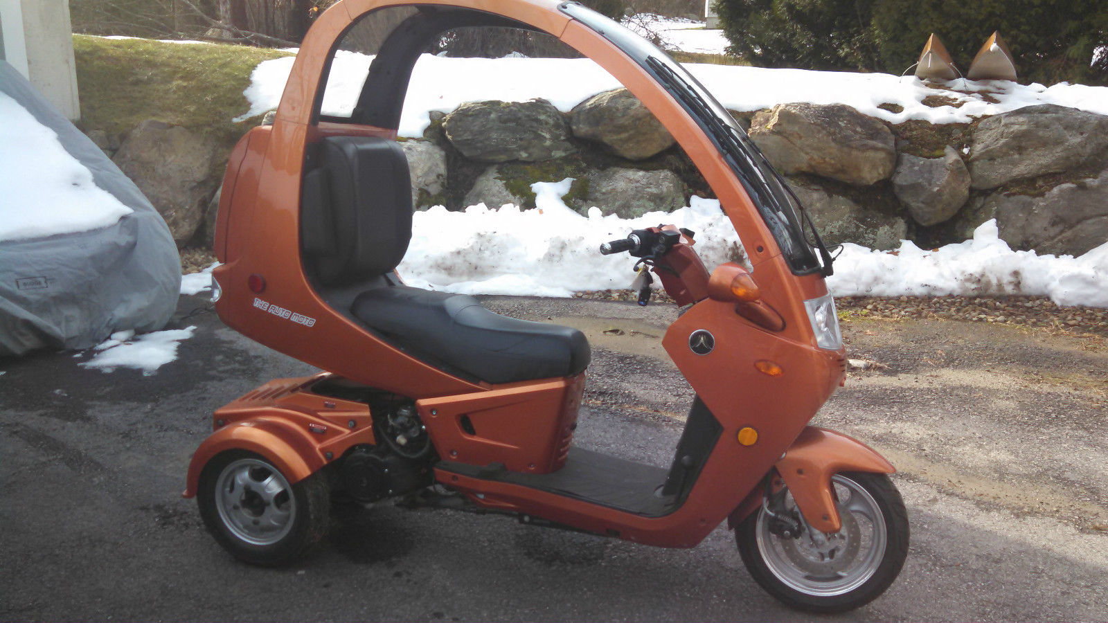 The Auto Moto 3 Wheel Scooter 150cc Scooter Trike 3 Wheel