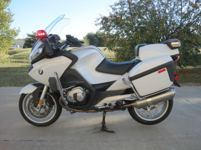 2012 Bmw R1200rt R1200rtp Police Edition 25k Miles Loaded Great Deal