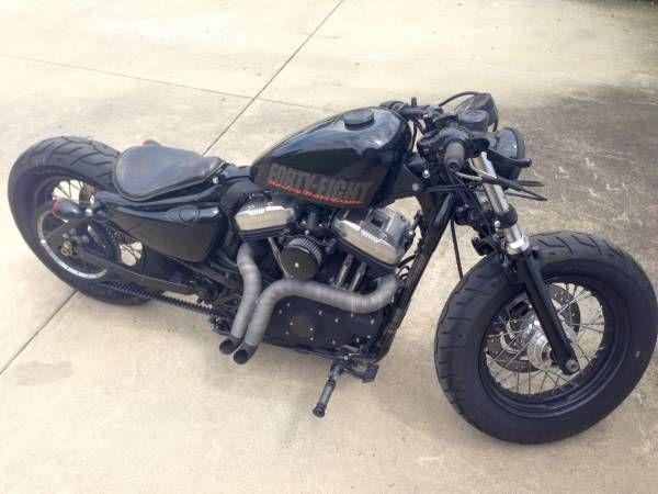 2012 Harley Davidson 48 Sportster Custom 2 876 Miles