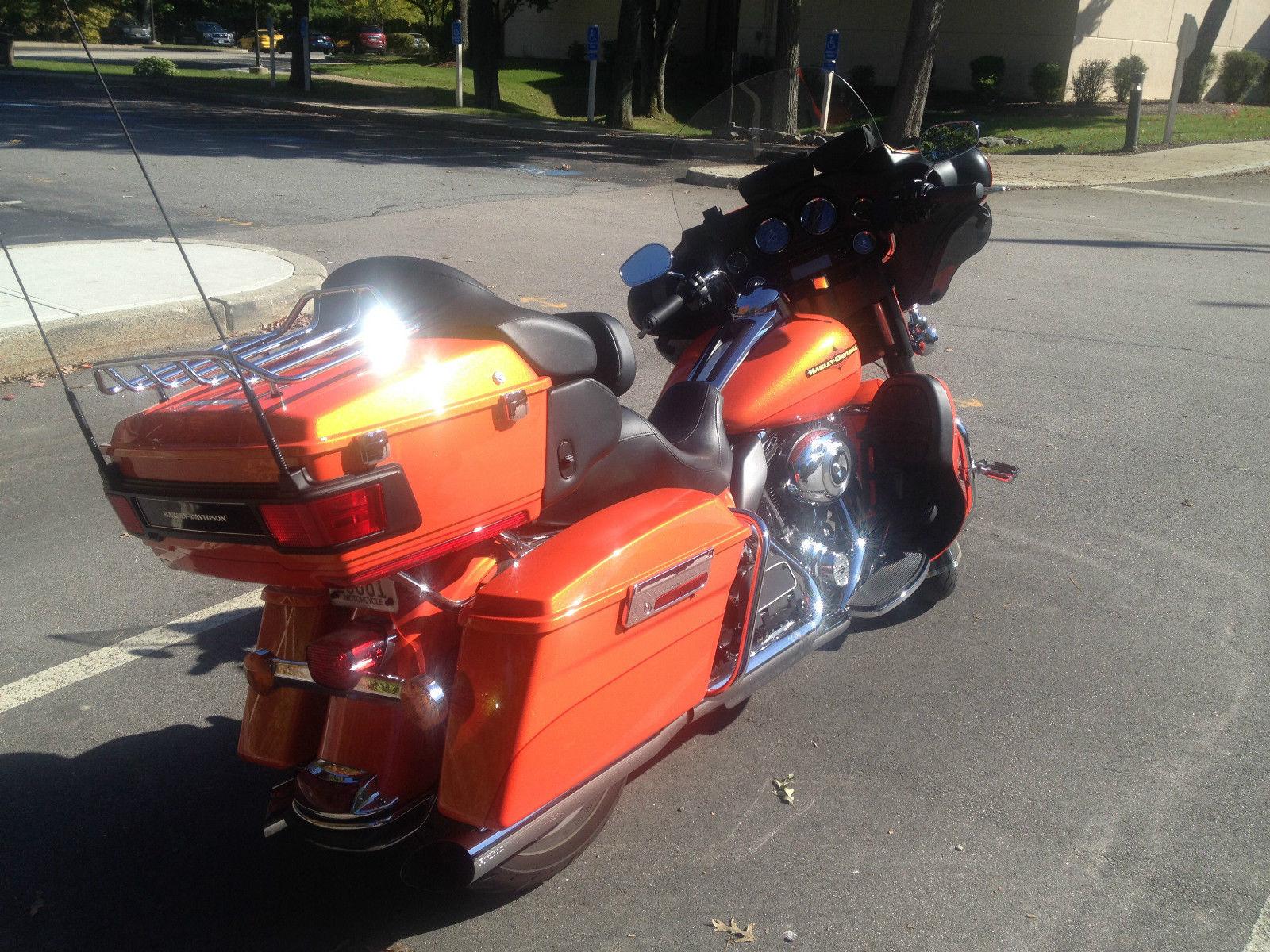 Harley Davidson Electra Glide Ultra Limited Tequila Sunrise