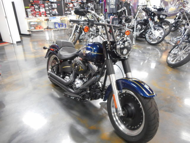 2012 Harley-Davidson FLSTFB Fat Boy Lo, Only 984 Miles! Exhaust & T